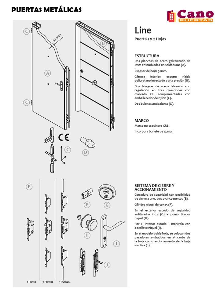 Productos - Puertas Metálicas - Puertas Cano